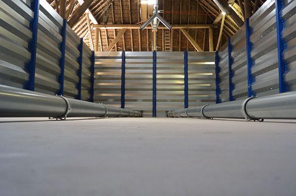 De nieuwe silo